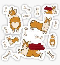 Cute Corgies Sticker