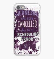 Wednesday iPhone Case/Skin