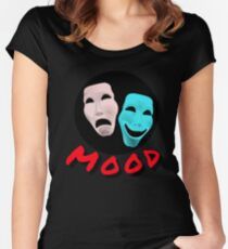 Mask Mood Women's Fitted Scoop T-Shirt