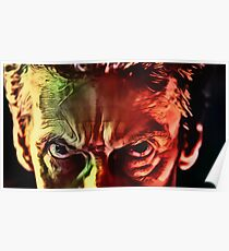 Doctor Who - Capaldi Eyebrows Poster