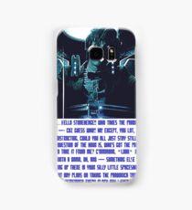 Doctor Who Pandorica Opens (Speech) Samsung Galaxy Case/Skin