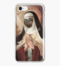 Sloth Mother (#blessed) iPhone Case/Skin