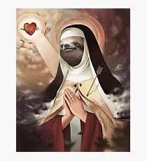 Sloth Mother (#blessed) Photographic Print