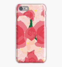 Peach Flowers iPhone Case/Skin