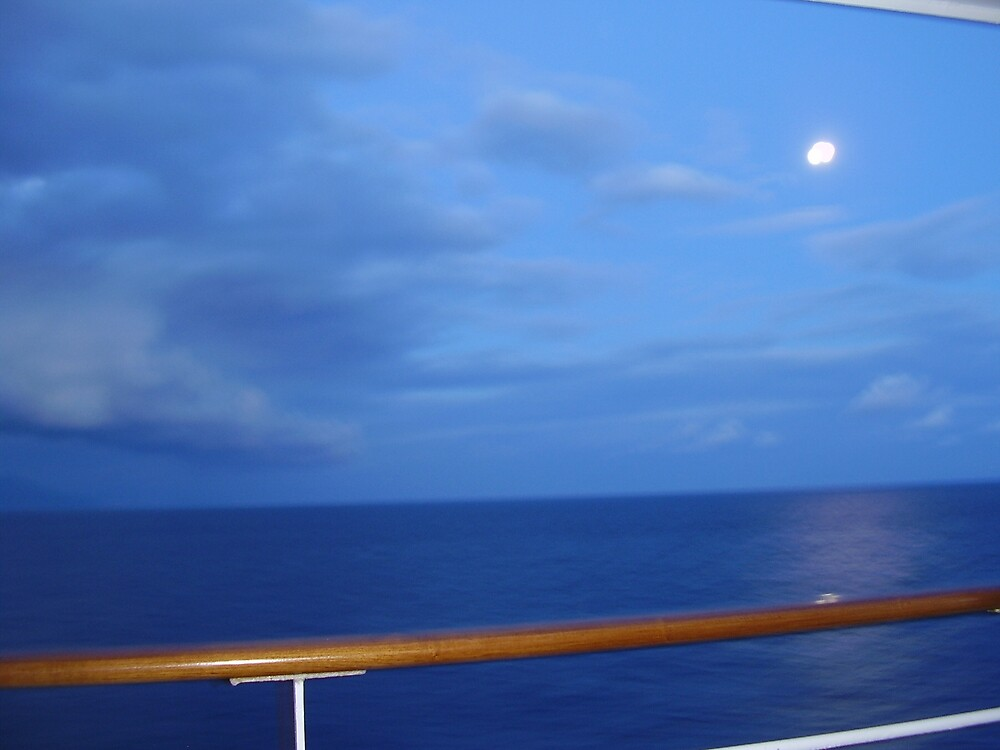 Mediterranean Moon by Ann Palmieri