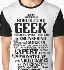 Geek (geeky, nerd) Graphic T-Shirt