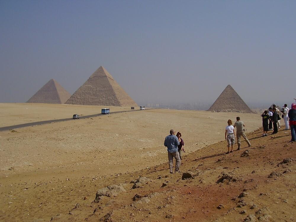 Pyramids  by Ann Palmieri