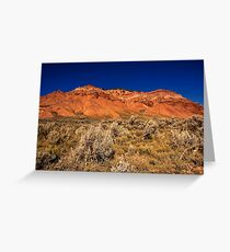 Near Red Rock campground Greeting Card