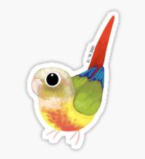 Pineapple green cheek Sticker