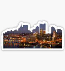 Pittsburgh Outline Skyline Sticker