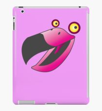 Cute pink beaker bird iPad Case/Skin