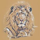 Just... Lion Down by Paul-M-W