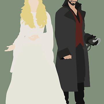 Captain Swan Wedding by eevylynn