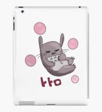 Totoro Bubbles iPad Case/Skin