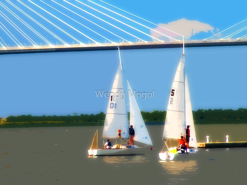Sailing Team 2 by Wendy Mogul