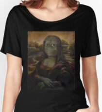 Mona Pepe Smile Women's Relaxed Fit T-Shirt