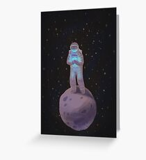Space Oddity - Starman Greeting Card