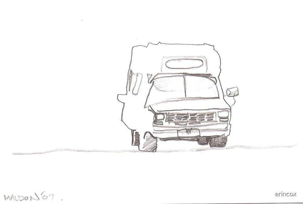 old ambulance by erincox