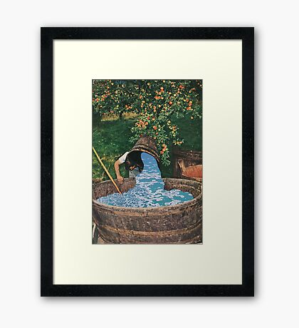 Saving the Ocean Framed Print