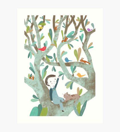 In The Tree Art Print