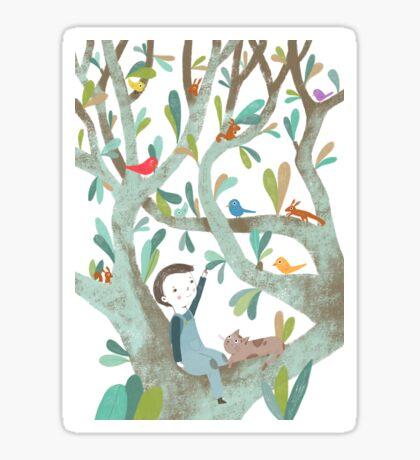In The Tree Sticker