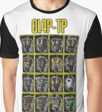 CLAP-TRAP (CL4P-TP) Graphic T-Shirt