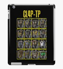 CLAP-TRAP (CL4P-TP) iPad Case/Skin