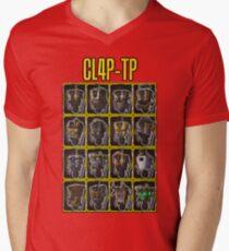 CLAP-TRAP (CL4P-TP) Mens V-Neck T-Shirt