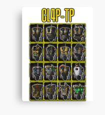 CLAP-TRAP (CL4P-TP) Canvas Print