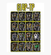 CLAP-TRAP (CL4P-TP) Photographic Print