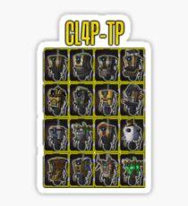 CLAP-TRAP (CL4P-TP) Sticker