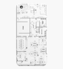 The Office Floor Plan iPhone 5c Case