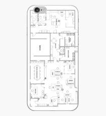 The Office Floor Plan iPhone Case