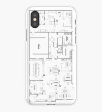 The Office Floor Plan iPhone Case/Skin