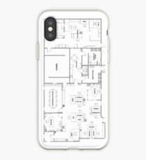 The Office Floor Plan iPhone Case