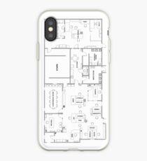 Vinilo o funda para iPhone El plano de la oficina
