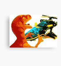 Velociraptor Attack! Canvas Print