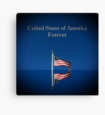 United States Forever Canvas Print