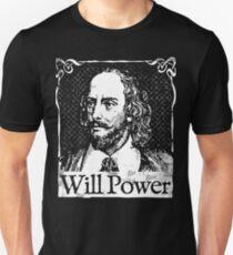 Will Power William Shakespeare Playwright Theater Gift T-Shirt