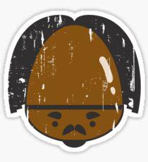 Gervinho's Big Shiny Forehead Sticker