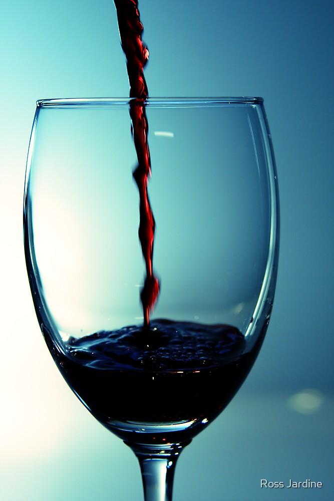Quaffing Wine by Ross Jardine