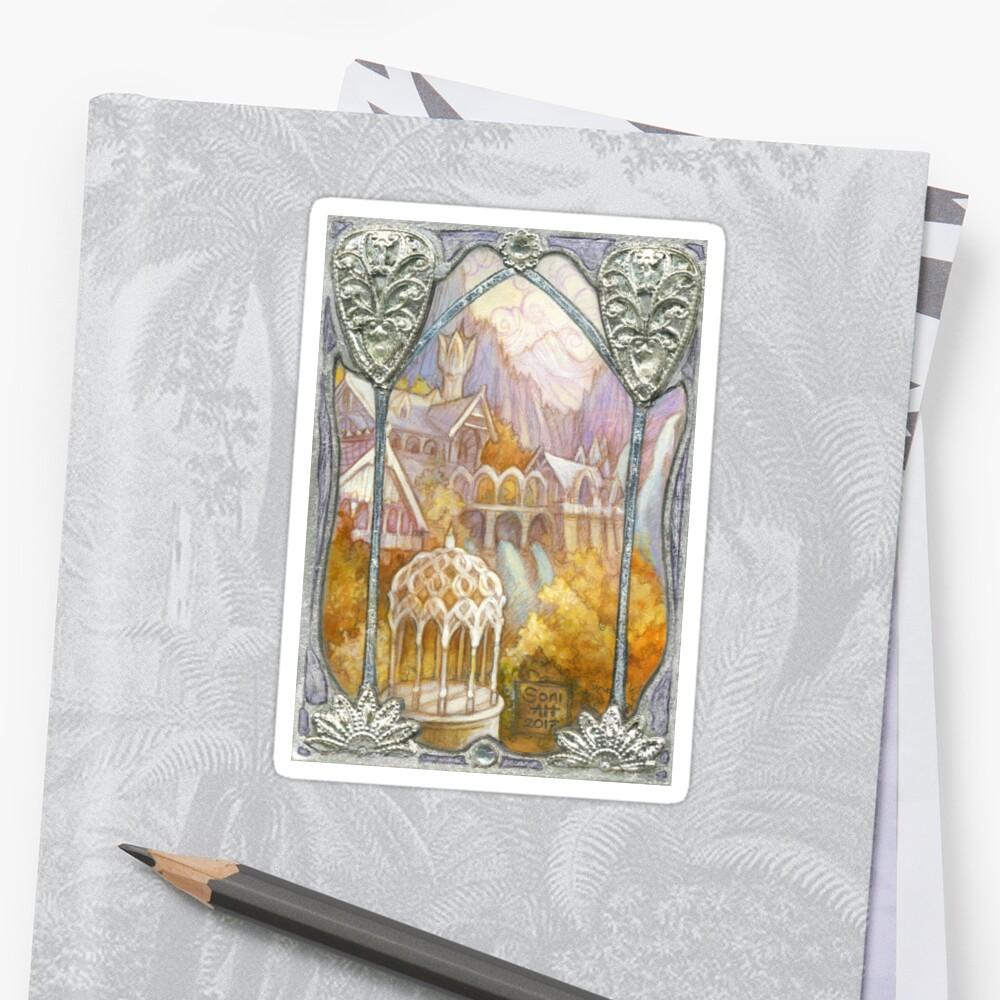 Elven window by BohemianWeasel
