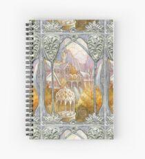 Elven window Spiral Notebook