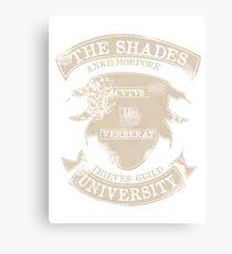 Shady university Canvas Print