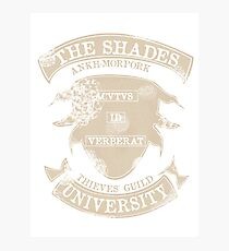 Shady university Photographic Print