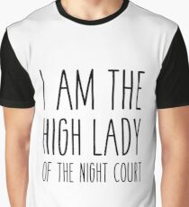 High lady of the night court (acomaf) Graphic T-Shirt