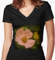 Flavour of Spring Women's Fitted V-Neck T-Shirt