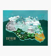 Provinces Of Skyrim Photographic Print