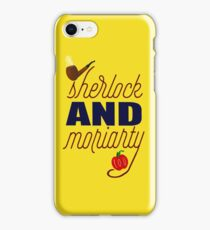Sherlock and Moriarty iPhone Case/Skin