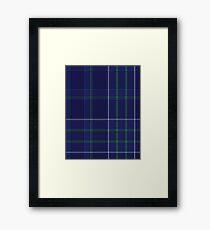 Milligan Tartan  Framed Print